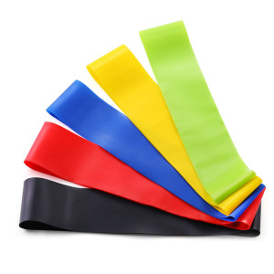 Yoga Resistance Bands Elastic Pilates Sport Training Exercises Fitness Workout Bands Loop Crossfit Gym Fitness Workout Equipment