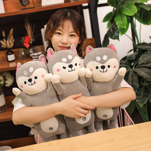 New Creative Cute Husky Plush Toys Stuffed Animal Dog Doll Soft Pillow Children Toy Valentines Day Gifts