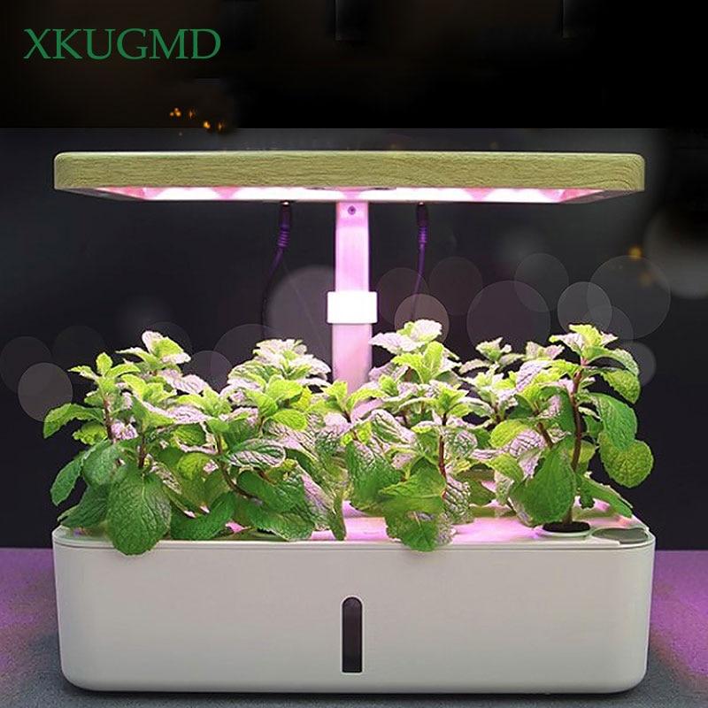 Intelligent Hydroponic Box Indoor Soilless Cultivation Equipment LED Fill Light Vegetable Planting Machine Nursery Flower Pot