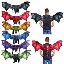 3D Дракон крыло Хэллоуин костюм Марди Грас аксессуар Косплей вечерние украшения HFing