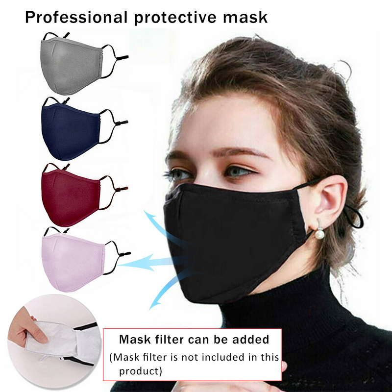 Face Breathable Mouth Mask 3D Breathing Valve Adult Children Kid Reusable Washable Proof Soft Anti-Flu Mask PM2.5 Without Valve