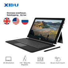 Neue XIDU PhilPad Tablet 13,3 zoll laptop 2 in 1 Laptop 6G DDR3 128G SSD Intel Atom E3950 quad Core Ultrabook Window10 Notebook(China)