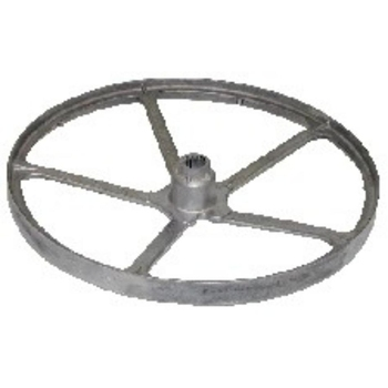 Pulley Indesit washing machine drum spline shaft 55043