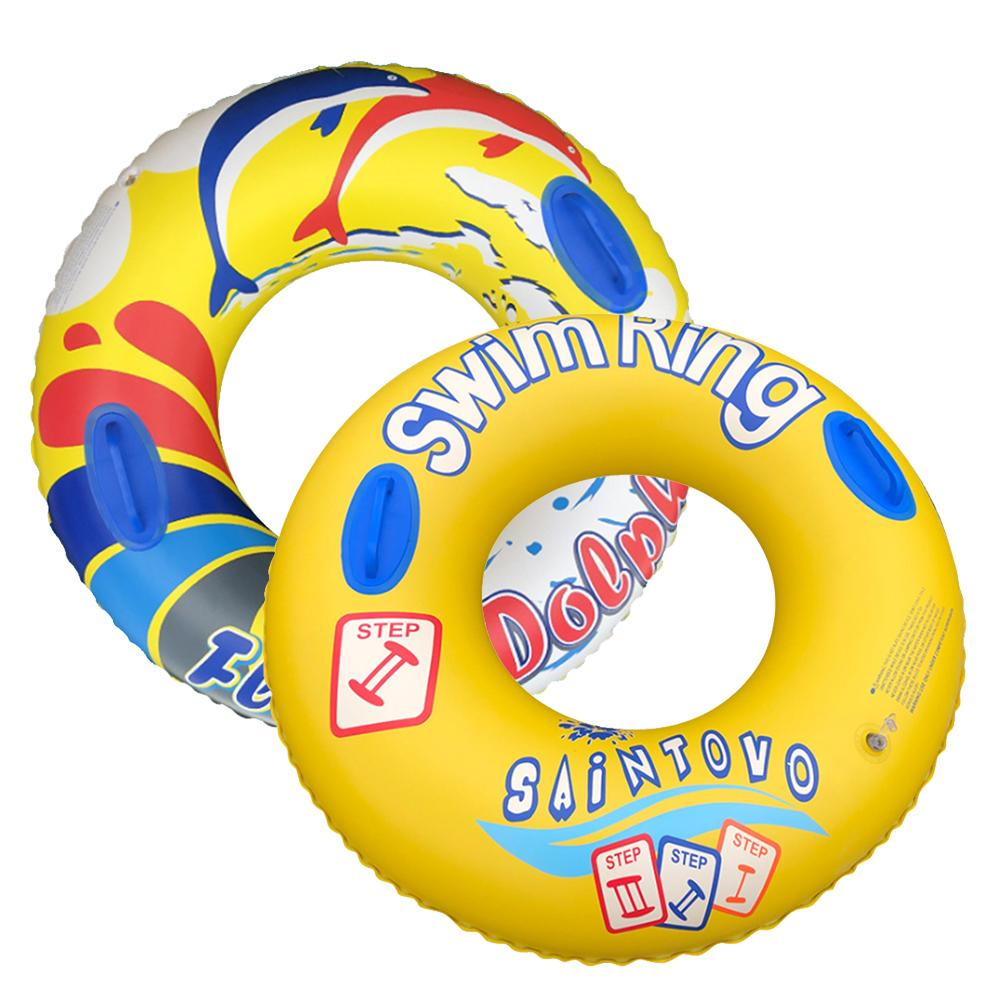 Inflatable Swimming Pool Floating Ring Beach Sea Swimming Circle Inflatable Mattress Water Toys Outdoor Toy For Children Adult