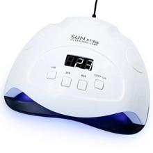 Sunx7 בתוספת נייל מנורת ריפוי מהיר מהירות Led ג ל מנורת עם חכם חיישן וטיימר החדש מייבש עבור כל ג לי