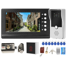 Door-Phone Lock Video-Intercom Access-Control-System Apartment Electric-Lock Homefong