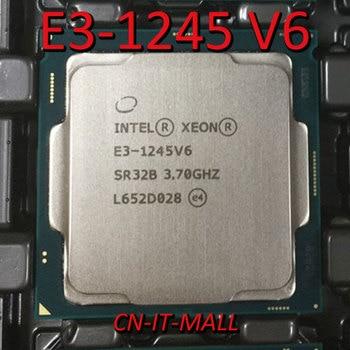 Intel Xeon E3-1245 V6 CPU 3.7GHz 8M 4 Core 8 Threads LGA1151 Processor