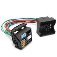 Автомобильный адаптер Quadlock для MIB MQB Aux Plug Cable для VW MFD3 RNS RCD
