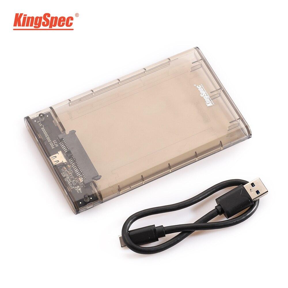 Новое поступление KingSpec 6 Гбит/с SATA ssd корпус USB 3,0 7 мм 5 Гбит/с SSD жесткий диск внешний 9,5 мм для 2,5 дюймов SATA SSD HDD