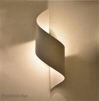 Moderna lâmpada de parede led espelho arandela para casa iluminação decoração luminária quarto lâmpada cabeceira interior da escada luzes parede luminárias|Luminárias de parede| |  -