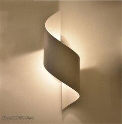 Nowoczesna lampa ścienna Led lustro kinkiet dla domu dekoracyjny element oświetleniowy oprawa lampka nocna do sypialni kryty na klatkę schodową/ścianę lampy sufitowe oprawy oświetleniowe|Wewnętrzne kinkiety LED|   -
