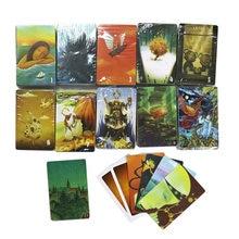 Mini söyle hikaye kart oyunu, 78 oyun kartları, yüksek kaliteli eğitim masa oyunu çocuklar için aile partisi kurulu oyunu