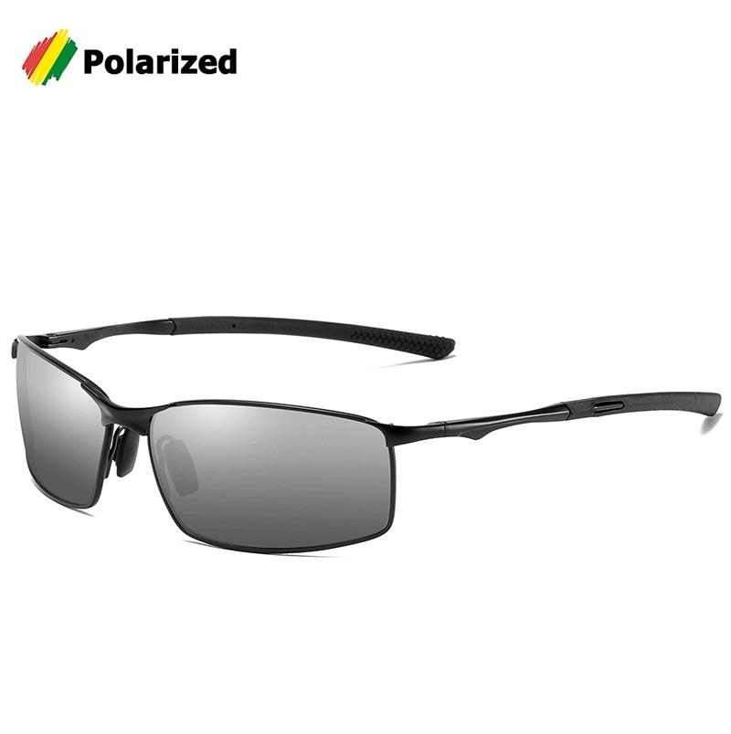 Jackjad 2020 moda homem condução de pesca estilo polarizado óculos de sol qualidade metal marca design óculos sol a559