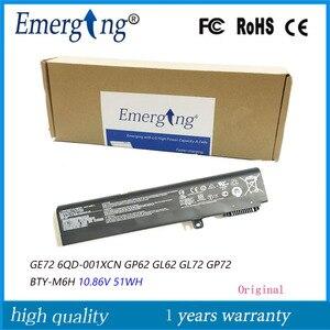 10.86V BTY-M6H 51WH Original Novo Bateria Do Portátil para MSI GE62 2QF-255XCN GE72 6QD-001XCN GP62 GL62 GL72 GP72