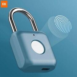 Xiaomi Mijia YD Intelligent Fingerprint Lock Padlock Kitty Hardcore Technology Fingerprint Open Smart Home Travel Office Safe