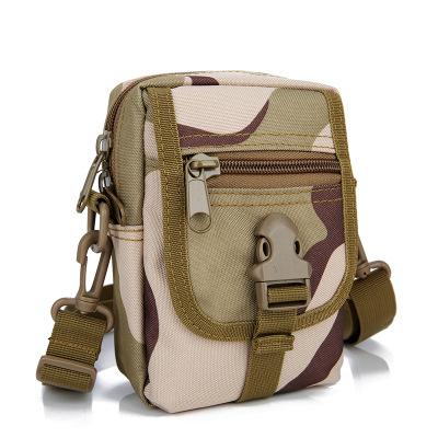 2018 New Style Tactical Bum Bag Army Fans Camouflage Shoulder Mini Bag Multi-functional Small Waist Pack