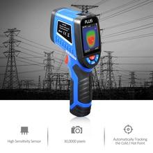 Профессиональный портативный цифровой тепловизор камера Инфракрасный Тепловизор термометр гигрометр с разрешением 1089P