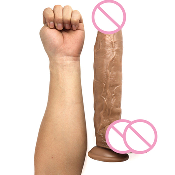 30*5.8CM Giant Huge Dildo Super Big Dick with suction cup Anal Butt Plug Large Dong Realistic Penis Sex Toys For Women 9 inch huge extra large flesh dong dildo unisex sex toy