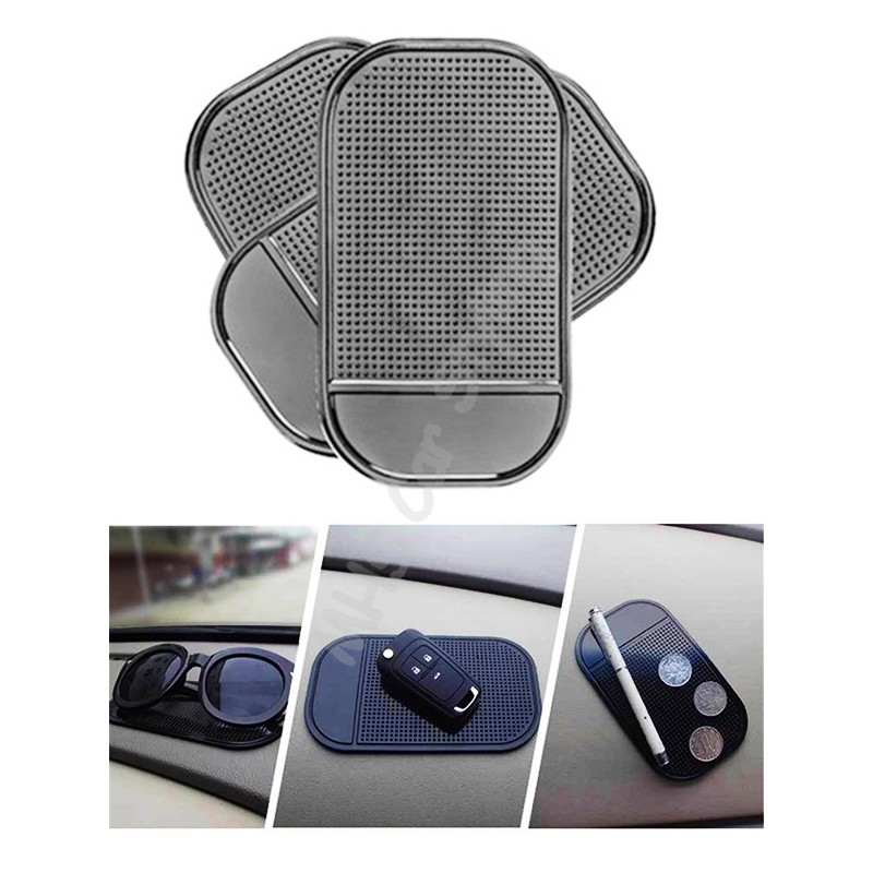 12 X 7cm 1PC Auto CAR Anti Slip Dashboard Sticky PAD Non Slip Mat Holder Car Stickers For GPS Cell Phones Car Styling
