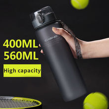 400ml 560ml Portable Leak-proof Water Bottle High Quality Tour Outdoor Bicycle Sports Drinking Plastic Water Bottles BPA Free
