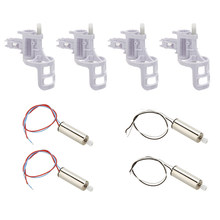 Voor Syma X5 X5C-X5C Set Rechtsom + linksom Motor met Messing Versnelling/Motor Base Cover(China)