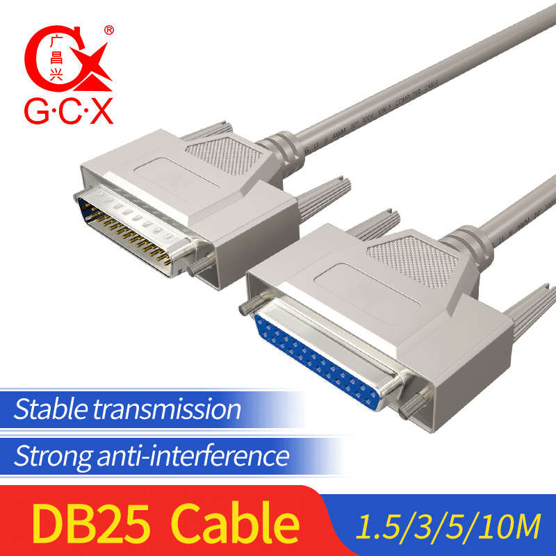 DB25 Cable Connector Male Male To Female For Computer Printer DB 25Pin Extension Parallel Converter 1.5M 3M 5M 10M