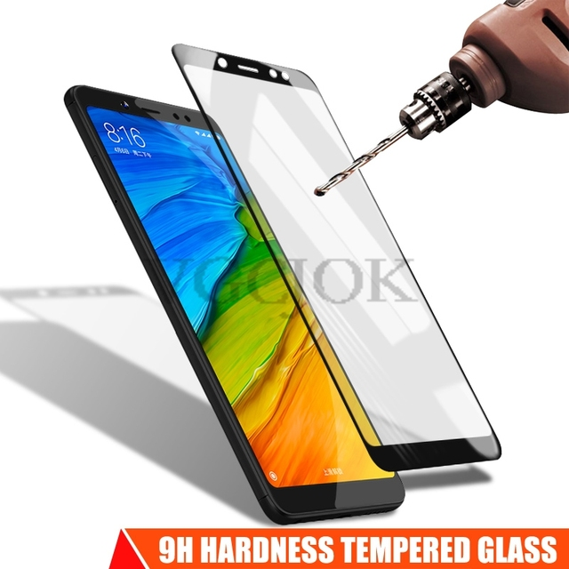 11D Tempered Glass For Xiaomi Redmi 5 Plus 5A Go 6 6A 7A S2 Full Cover Screen Protector On Redmi Note 5 5A 6 Pro Protective Film 2