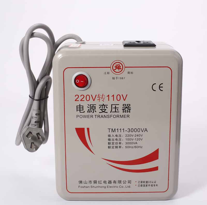 New New 220 V to 110 V 3000W Step Down Voltage Converter Transformer Converts 3000 Watts EMS DHL Free Shipping