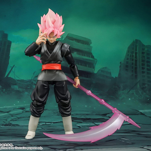 Image 1 - Tronzo Demoniacal Fit Dragon Ball Super Goku Black SHF SSJ Rose Zamasu The Chosen Ones Movable PVC Action Figure Model Toys