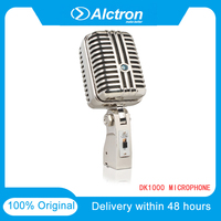 Original Alctron DK1000 Classic Retro Dynamic Vocal Microphone live broadcast Performance Studio Recording Vintage Cardioid Mic