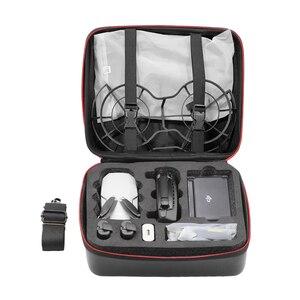Image 2 - Nylonowa torba do przechowywania PU dla DJi Mavic Mini Hardshell Box torby na ramię dla Mavic Mini przenośny pakiet futerał do przenoszenia akcesoria