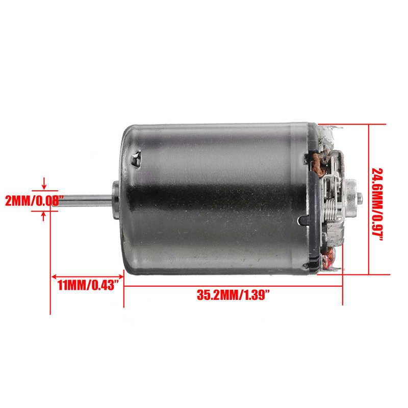 1 Stuks Nieuwe Dc 6V 7.4V 9.6V 37500 Rpm Hoge Snelheid Grote Koppel 370 Motor Diy Rc auto Boot Voor Motor Onderdelen Accessoires