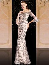 Платье для банкета вечеринки ежегодного собрания платье ведущей