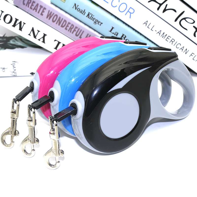 R New Style Pet Leashing Device Pet Traction Rope Dog Hand Holding Rope Automatic Flexible Tractor