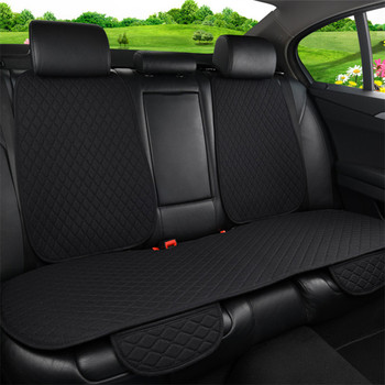 Car Accessories Flax Car Seat Covers Universal Auto Seat Cover Linen Automobile Chair Pad Cars Rear Back Protect Cushion Hot
