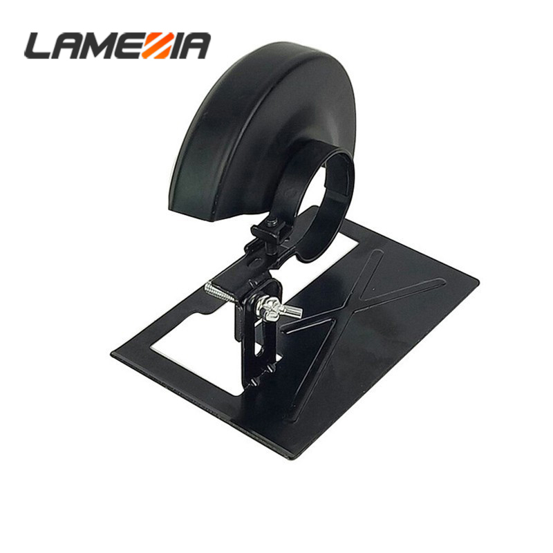 LAMEZIA Angle Grinder Special Cutting Bracket Safety Shield Dremel Accessories Electrical Tools