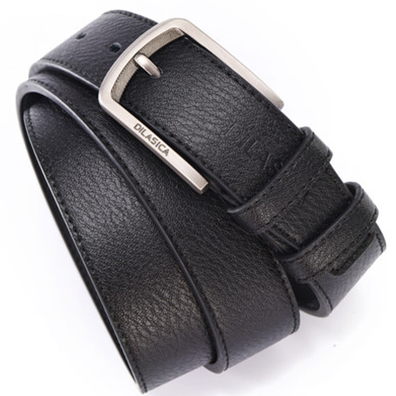 Men's Genuine Leather Pin Buckle Belt Men Leather Belt Business Young Casual Student Belts Men Belt Leather Luxury Brand 2020