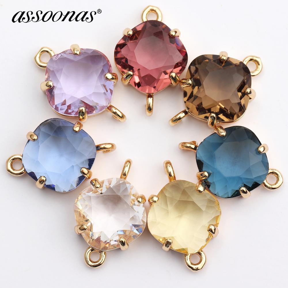 Assoonas M438,jewelry Accessories,glass Earrings,jewelry Making,hand Made,charm,metal Earrings,diy Earrings Pendant,10pcs/lot