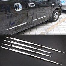Carbon Faser Auto Aufkleber 4 Pcs Auto Tür Dekorative Schutz Streifen Anti Scratch Seite Schneidet Aufkleber Autos Körper schutzhülle abdeckung