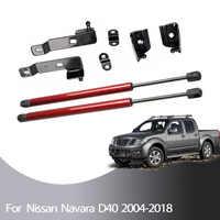 Pour Nissan Frontier Navara D40 2004-2018 pour Pathfinder (R51) 2x capot avant capot modifier les entretoises à gaz Support de levage amortisseur
