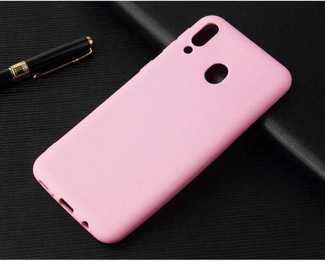 Candy silicone soft case for Xiaomi Redmi Note 5 6 7 8 8T Pro Case Redmi 5A 6A 7A 8A Redmi S2 GO K20 frosted solid colorful Case
