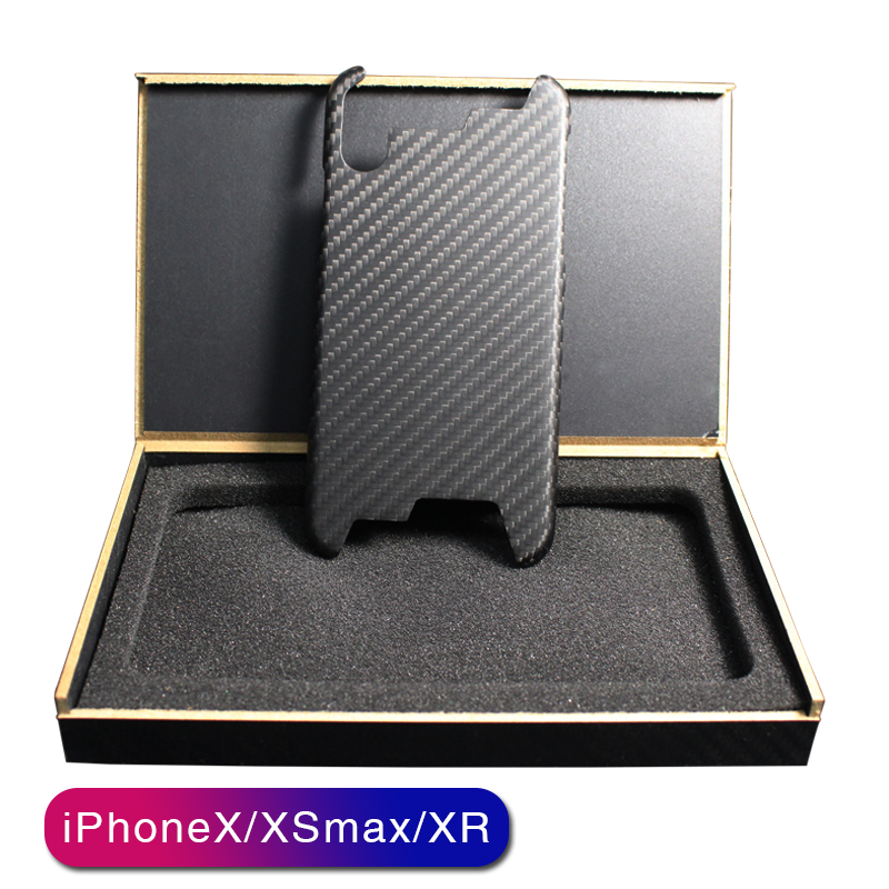 real pure carbon fiber ultra thin  handcraft mobile phone case for iPhone 7 8 plus X S R max 11 Pro Max business phone cover   - title=