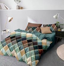 Claroom Geometric Duvet Cover Comforter Bedding Queen King Bed Linens CV01