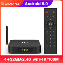 TX6 smart tv box android 9 4G/32G Allwinner H6 четырехъядерный Поддержка 2,4G & 5G беспроводной WIFI Google Play Youtube Smart Set Top Box