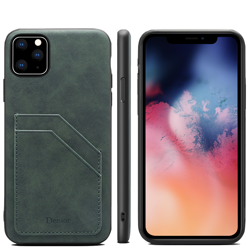 Double Card Leather Case for iPhone 11/11 Pro/11 Pro Max 11