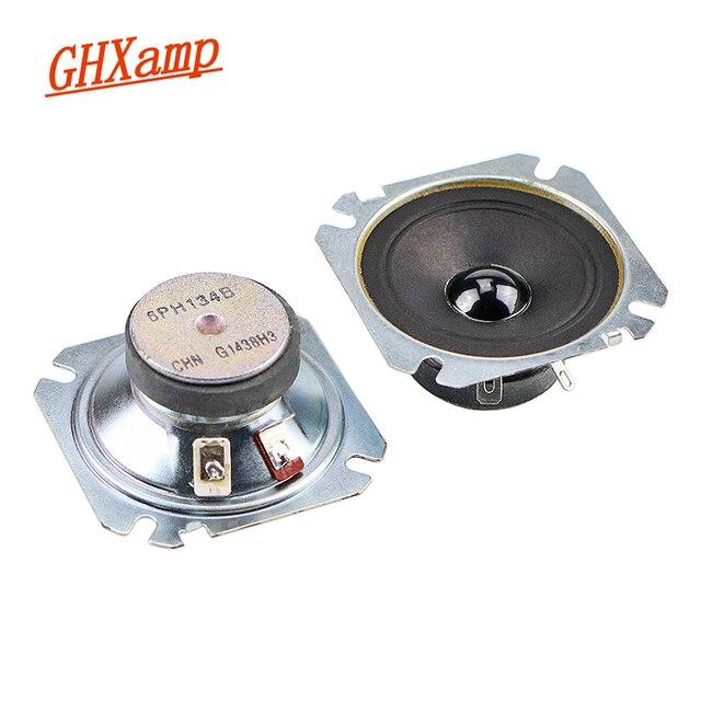 GHXAMP 2.5 بوصة مكبر الصوت المتكلم 6Ohm 30 واط 60 واط ورقة مخروط ثلاثة أضعاف 2 قطعة