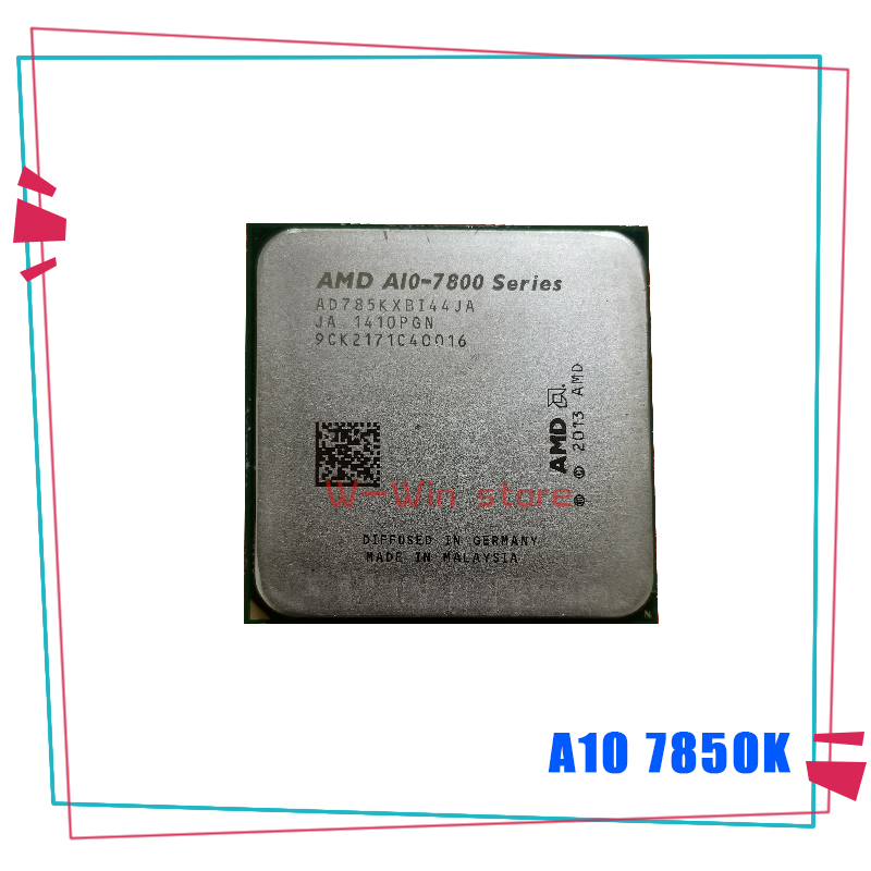 AMD CPU Processor A10-7850K Quad-Core Ghz A10-Series Ad785kxbi44ja-Socket FM2