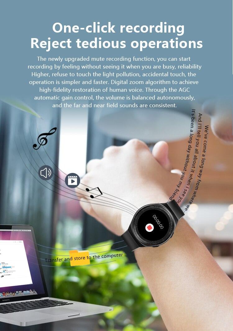 H53087ca065d14f43867e98f6d99cef1eZ MT3 Smart Watch Men Women Music Play 8G Memory Bluetooth Call Heart Rate Fitness Health Tracker Sport Waterproof Smartwatch