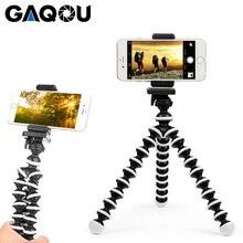 GAQOU Mini Octopus Stativ Halterung Tragbaren Flexible Telefon Halter Für Gopro Kamera Mobil Faltbare Desktop ständer