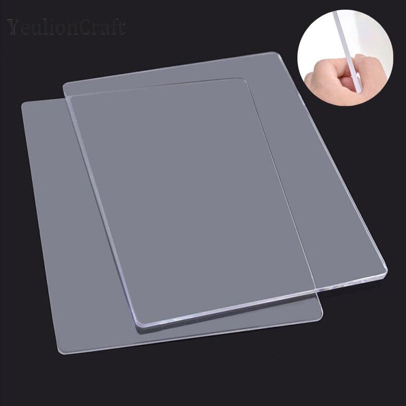 YeulionCraft 3 мм 5 мм высечка машина для тиснения прочные пластиковые пластины замена Pad Diy резки штампы ремесла|Вырубные штампы|   | АлиЭкспресс